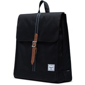 Herschel City Mid-Volume Backpack black/black/tan